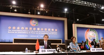 The Forum on China Africa Co-Operation in Johannesburg, 4-5 December