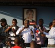 Afonso Dhlakama addressing a rally in Beira ahead of the 2014 elections. © Zitamar News