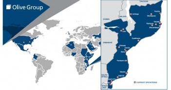 Olive Group worldwide and in Mozambique