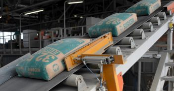 The production line at Cimentos da Beira. Photo: Cimentos da Beira