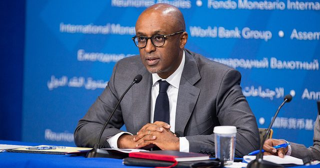 The head of the IMF's African Department, Abebe Aemro Selassie. Photo: IMF
