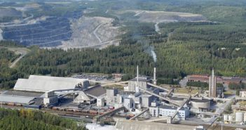Yara's fertilizer plant and phosphate rock mining in Finland. Photo © Yara