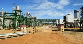 Sasol's Central Processing Facility at Temane, Mozambique. Photo © Tom Bowker / Zitamar News