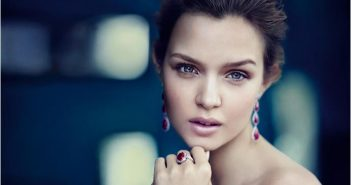 A model wearing Gemfields' rubies. Photo: Gemfields