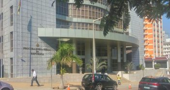The premises of Mozambique's Attorney General, the PGR, in Maputo. Photo © Tom Bowker / Zitamar News