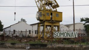 The SOMONAV shipyard in December 2016. Photo © Zitamar News