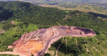 The Balama West pit on Syrah's concession in Cabo Delgado. Photo: Syrah Resources