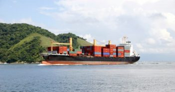 A cabotage ship. Photo: CARU Containers
