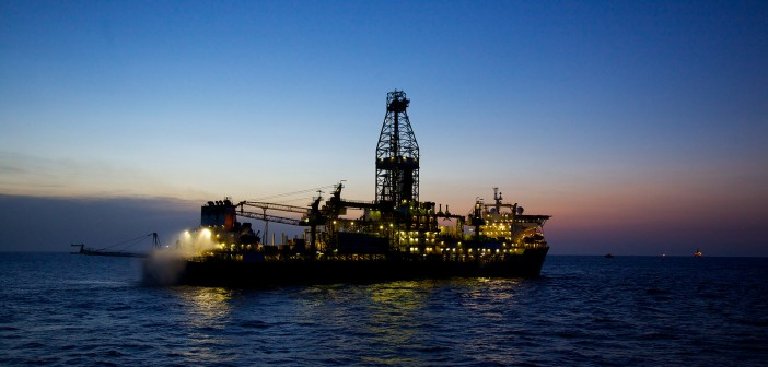 Drilling offshore Mozambique. Photo courtesy of Anadarko