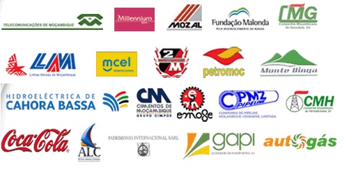 Some of the companies the Mozambican state has a stake in. Photo courtesy www.igepe.org.mz