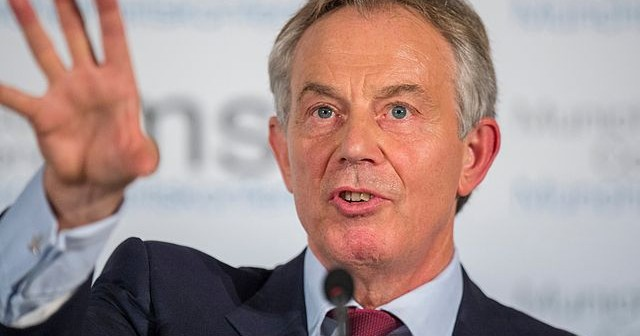 Tony Blair. Photo: Mark Mueller