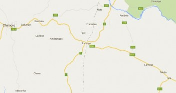 The EN1 and EN6 highways meet at Inchope. Via Google Maps
