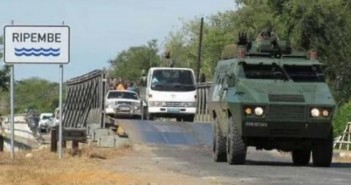 Military escorts have been escorting convoys on Mozambique's highways