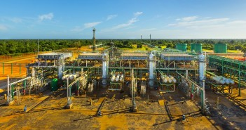 Sasol's Central Processing Facility in Inhambane. Photo © Sasol