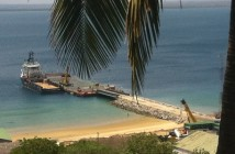 A jetty in Pemba, capital of Cabo Delgado. Photo: Zitamar News