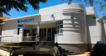 A branch of Barclays Bank in Maputo. Photo © Tom Bowker / Zitamar News