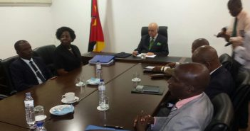 The 'mixed commission' meeting on 1 June in Mozambique's parliament building. Photo © Zitamar News