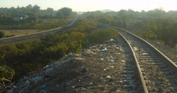 The Sena rail line at Moatize. © Zitamar News