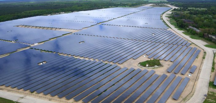 A 67.8 MW solar power plant built in Germany by Belectric. Photo © Belectric