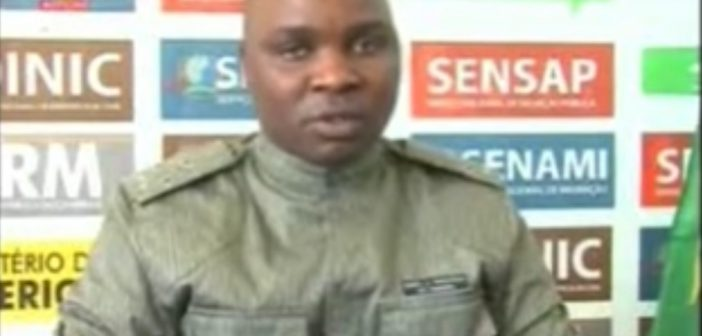 Sofala police spokesman Daniel Macuacua blamed Renamo for the killings. STV screenshot