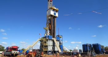 An onshore well at Sasol's PSA project in southern Mozambique. Photo © Tom Bowker / Zitamar News