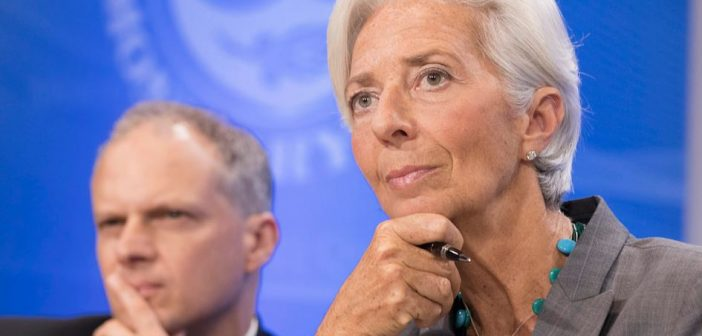 IMF Managing Director Christine Lagarde  Photo © IMF