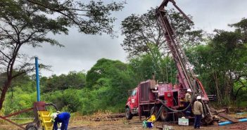 Early works at Triton's Mozambique projects. Photo: Triton Minerals