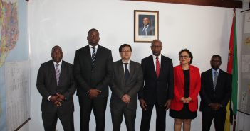 EDM's new board, appointed 28 October, with chairman Magala, third from right