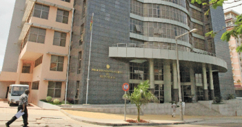 The office of Mozambique's Prosecutor General in Maputo
