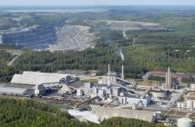 A Yara fertilizer plant and phosphate rock mine in Finland. Photo © Yara