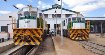 Locomotives on the Nacala line. Photo: CDN