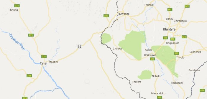 Caphiridzange lies between Tete and Mozambique's border with Malawi