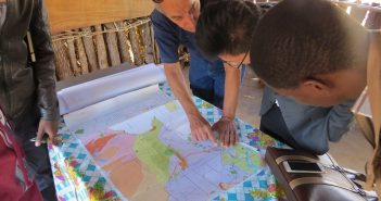 Plans for the Revuboe free zone in Tete Province. Photo © Tom Bowker / Zitamar News