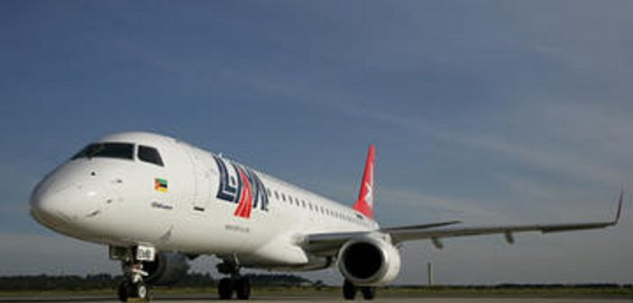 One of LAM's Embraer 190s. Photo: LAM
