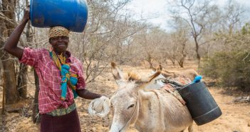 A woman in drought-hit Mozambique. Photo: CARE