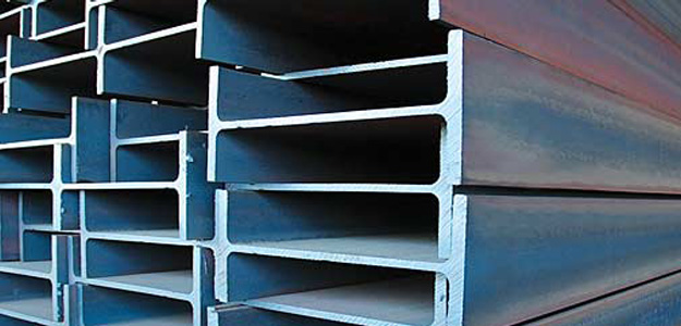 Steel H beams. Photo: Jindal