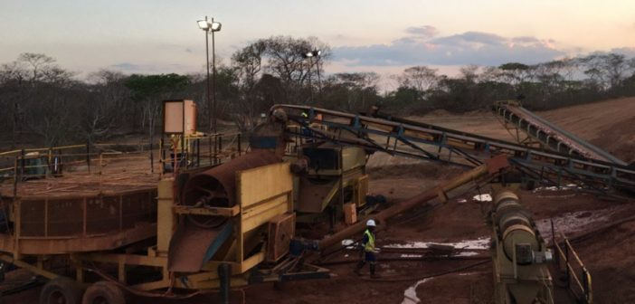 Mustang Resources' ruby mine in Cabo Delgado. Photo: www.twitter.com/christian_jord