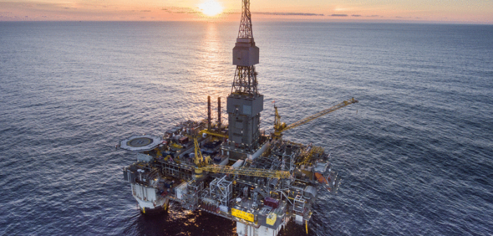 An offshore rig belonging to Statoil. Photo: Statoil