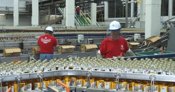 Bottling at a Heineken brewery in Mexico. Photo: Heineken