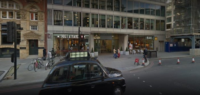 A view from outside Kroll's London office. Photo: Google Streetview