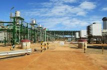 Sasol's gas processing facility at Temane, Mozambique. Photo © Tom Bowker / Zitamar News