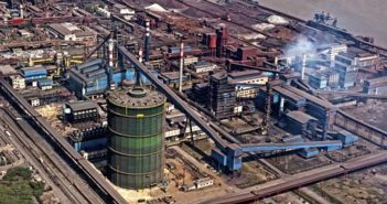An Essar Steel plant in India