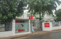 A Moza Banco branch in Maputo's Sommerschield neighbourhood. Photo © Tom Bowker  / Zitamar News