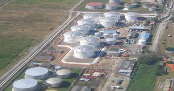 The INPETRO terminal at Beira, part-owned by Zimbabwe. Photo: IPG