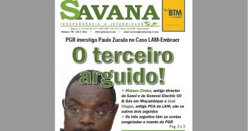 The cover of Savana, 21 April 2017.