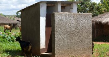 A toilet in rural Mozambique. Photo: AfDB