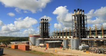 The CTRG power plant at Ressano Garcia. Photo: Sasol