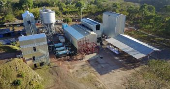 GK Ancuabe Graphite Mine processing plant in Ancuabe. Photo: GK