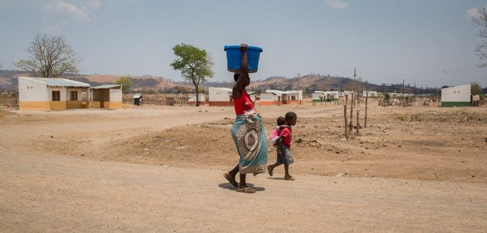 A resettlement village in Tete province. Photo © Gregor Zielke