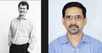 Gemfields' new CEO Sean Gilbertson, and Kartikeya Parikshya, in charge of the Montepuez operation.